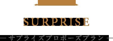 SURPRISE ― サプライズプロポーズプラン ―